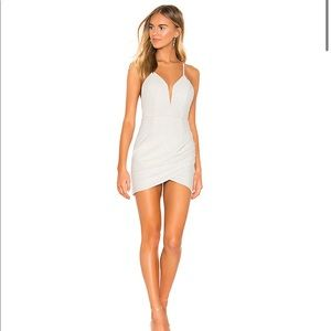 Revolve Superdown Porsha Wrap Front Dress
